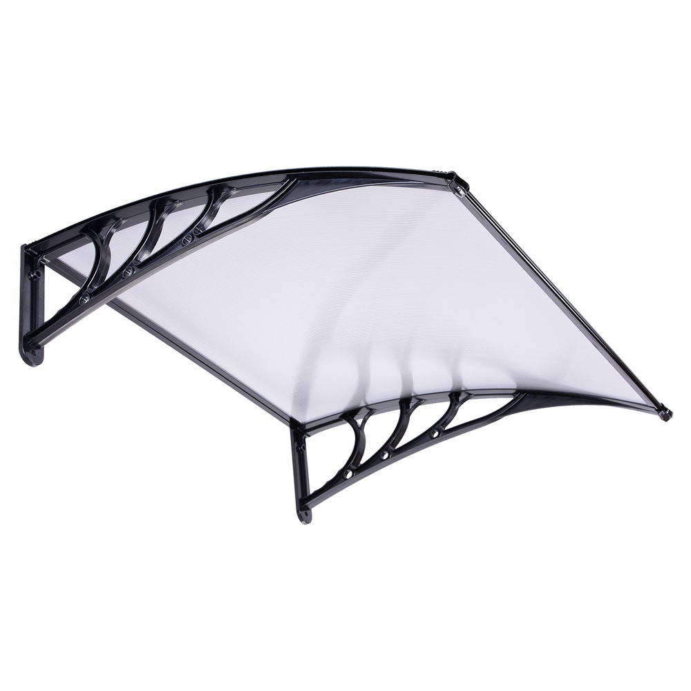 Door canopy patio awning shelter porch front rain roof for Exterior canopy design